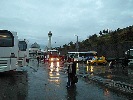 Istanbul Otogar... on the road again