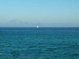 sailing towards Morocco