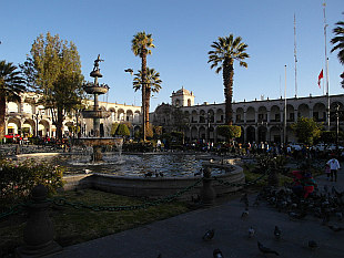 Main square - Plaza de Armas