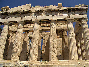 Parthenon on Akropoli