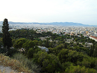 Athens, the white city...