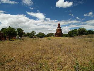 Bagan hidden landscape