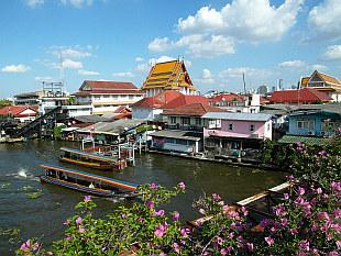 Bangkok Yai water channel