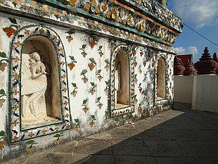 corners of Wat Arun Temple