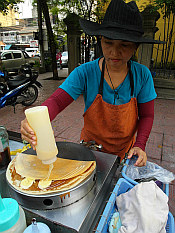once again a banana pancake