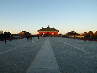 Gates to Temple of Heaven