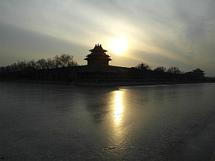 northeast tower of Forbidden City