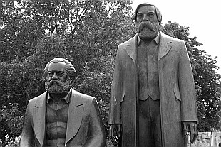 Marx, Engels... still standing here