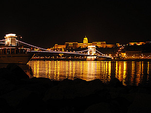 Chain Bridge and the Buda Castle