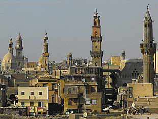 minarets of Islamic Cairo
