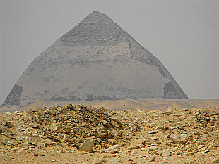 Snofru's Bent Pyramid in Dahshur