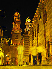 night in Islamic Cairo