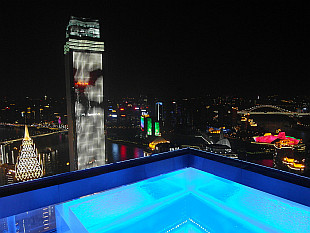 night lights of Chongqing