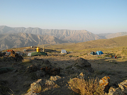 next day morning in the Base Camp (3050m)