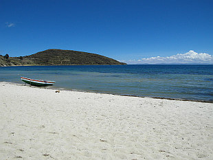 Lake Titicaca in Caribbean style I