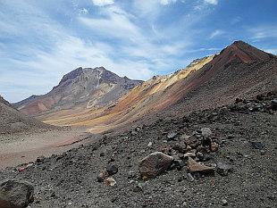 Nocarani (5874m) and La Horqueta (5474m)