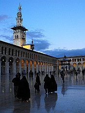 Umayyad Mosque by dusk