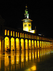 Minaret of the Bride - night view