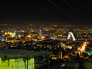 city of lights - Damascus seen from Mount Jabal Qasioun