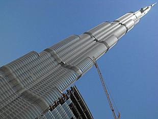 Burj Dubai - 818 metres tall
