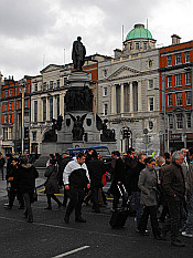scene from O Connell Street