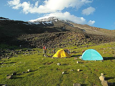 Ararat Base Camp - 3345m