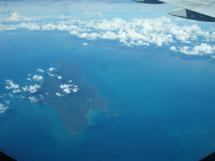 almost there... northwest coast of Malaysia