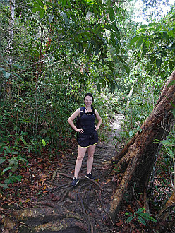 jungle trekking on Penang Island