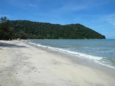 tranquil Monkey Beach - Penang Island