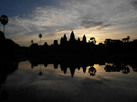 this why we dragged us over here - Angkor Wat