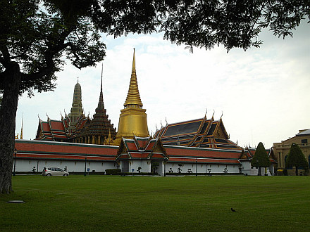 back in Bangkok - Royal Palace