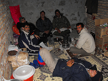 drinking tea with Azerbaijans