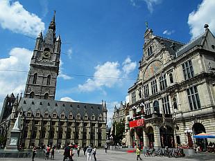 Het Belfort van Gent, guard tower from 14th century