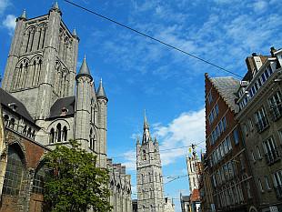 Sint-Niklaaskerk and Het Belfort van Gent
