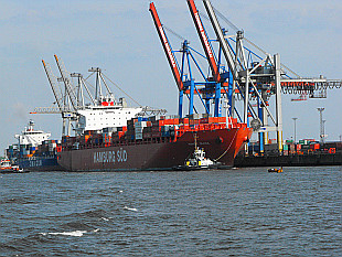 container vessel Monte Olivia - Hamburg Sud