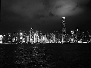 Hong Kong in silver