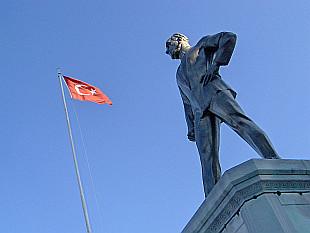 statue of Mustafa Kemal Atatürk