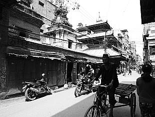 deep shadows of Kathmandu