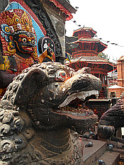 Black Bhairav on Durbar