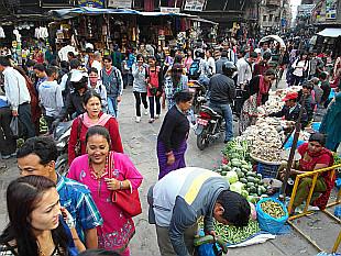 lively Kathmandu