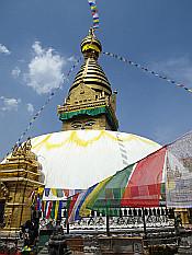 Swayambhunath stupa I
