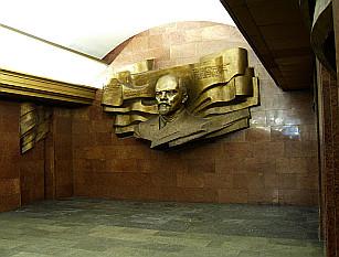 Teatralna - bust of V.I.Lenin