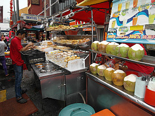food stall in KL China Town