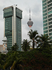 the towers of Kuala Lumpur