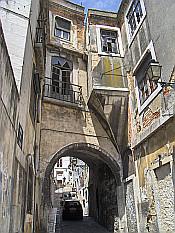 below Castelo de Sao Jorge