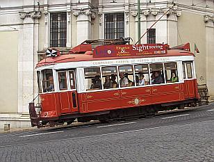 famous Lisbon tram