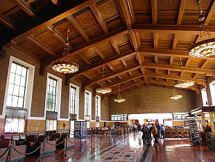 a piece of history... Union Station in Downtown L.A.