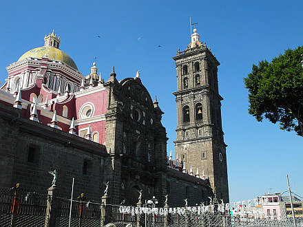 my first destination in Mexico - Puebla
