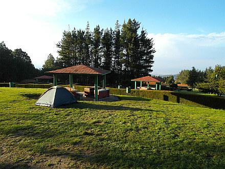 campsite (3100m) below Volcán La Malinche