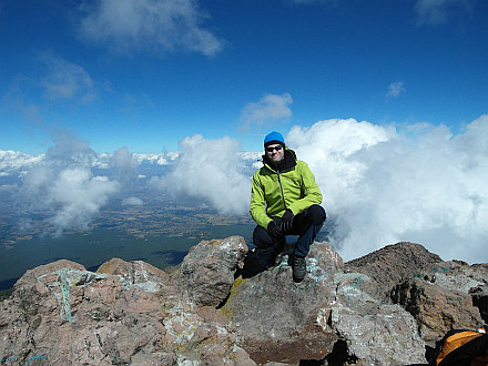 La Malinche summit - 4462m